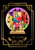 De keizerkaart vector illustratie