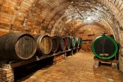 De Kelder van de wijn stock foto