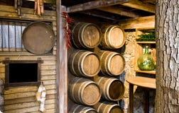 De kelder van de wijn Royalty-vrije Stock Afbeelding