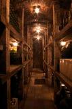 De Kelder van de wijn in Slowakije Stock Afbeeldingen