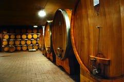 De kelder van Wineyard Royalty-vrije Stock Afbeelding