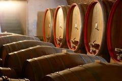 De kelder van Wineyard Royalty-vrije Stock Foto's