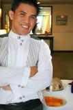 De kelner Royalty-vrije Stock Afbeeldingen