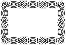 De Keltische Grens van de Knoop Royalty-vrije Stock Foto's