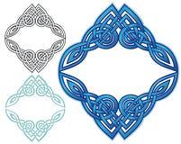 De Keltische Grens van de Knoop Royalty-vrije Stock Fotografie