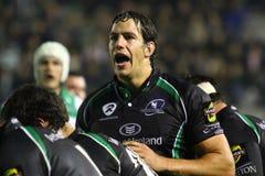 De Keltische Liga van het rugby; Benetton versus Connacht Stock Afbeelding