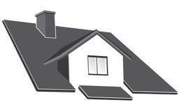 De kemphaan van het huis vector illustratie
