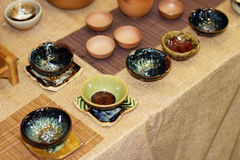 De keramiska produkterna Royaltyfri Fotografi