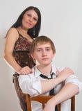 De kerel en het meisje royalty-vrije stock foto's