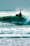De Kerel van Surfer Stock Fotografie