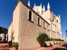 De Kerk Benissa van San Pedro Stock Afbeelding