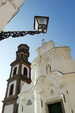De kerk Birecto Bireto van Atrani Stock Fotografie