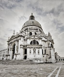 De kerk donkere mening van Venetië Royalty-vrije Stock Foto