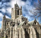 De Kerk Dublin van Christus Royalty-vrije Stock Afbeeldingen