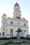 De kerk en het heiligdom van Gr Cobre Royalty-vrije Stock Foto