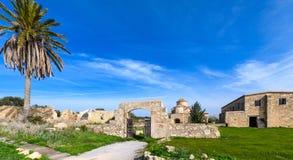 De Kerk en het Klooster van Panagiakanakaria in de Turkse bezette kant van Cyprus 19 Royalty-vrije Stock Afbeeldingen
