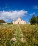 De Kerk en het Klooster van Panagiakanakaria in de Turkse bezette kant van Cyprus 16 royalty-vrije stock afbeeldingen