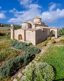 De Kerk en het Klooster van Panagiakanakaria in de Turkse bezette kant van Cyprus 25 royalty-vrije stock foto