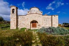 De Kerk en het Klooster van Panagiakanakaria in de Turkse bezette kant van Cyprus 3 royalty-vrije stock foto's