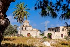 De Kerk en het Klooster van Panagiakanakaria in de Turkse bezette kant van Cyprus royalty-vrije stock foto's