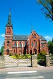 De kerk in Gorzow Slaski, Polen Royalty-vrije Stock Foto