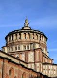 De kerk Grazie van Santa Maria delle in Milaan royalty-vrije stock afbeeldingen