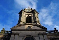 De kerk in het centrum van Birmingham Stock Foto's