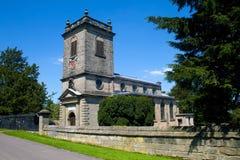 De Kerk Ingretre van het land Stock Afbeeldingen
