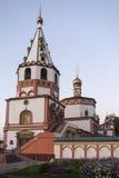 De kerk in Irkoetsk, Russische federatie royalty-vrije stock foto