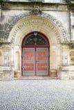 De Kerk Kassel van Christus - Deur voor Keizer Stock Foto