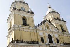 De kerk Lima van San Pedro stock fotografie