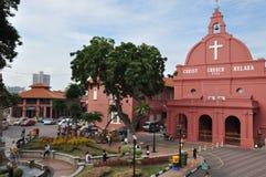 De kerk Malacca van Christus Stock Fotografie