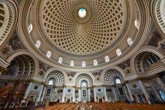 De kerk Malta van de Mostakoepel Stock Foto