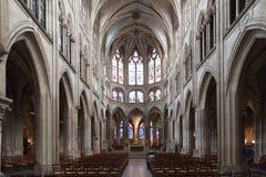 De Kerk Parijs van heilige Severin Stock Fotografie