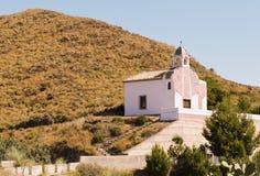 De Kerk Spanje van Mojacar Royalty-vrije Stock Afbeelding