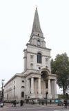 De Kerk Spitalfields van Christus Stock Afbeeldingen