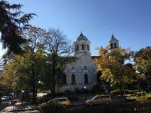 De Kerk SV Nikolai in Stara-zagora Stock Afbeelding