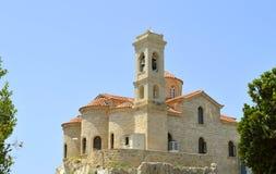 De kerk van Agiakyriaki Chrysopolitissa Stock Fotografie