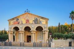 De kerk van Alle Naties royalty-vrije stock afbeeldingen