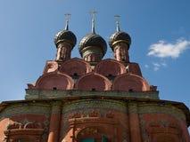 De kerk van Antient van Yaroslavl Stock Foto