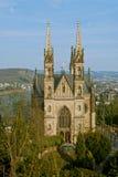 De kerk van Apollinaris in Remagen, Duitsland Stock Afbeelding