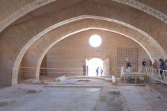 De kerk van de apostel in Madaba Stock Foto