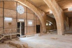 De kerk van de apostel in Madaba Royalty-vrije Stock Foto