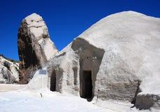 De kerk van Barbara in Goreme (Cappadocia) stock afbeeldingen