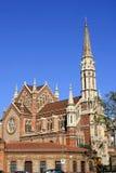 De kerk van Barcelona Stock Foto's