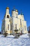 De Kerk van bogoroditsi van Pokrova Presvyatoy in Vladivostok royalty-vrije stock fotografie