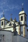 De kerk van Bom Jesus do Matozinhos in Congonhas, staat van Min Stock Afbeelding