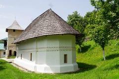 De Kerk van Braduskete, Valcea-provincie, Roemenië, Europa royalty-vrije stock fotografie