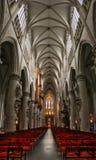 De kerk van Brussel. stock foto