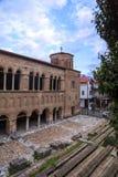 De kerk van Byzantium van St Sofia in Ohrid royalty-vrije stock foto